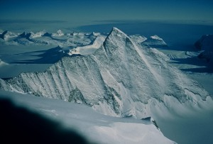 Evans Peak - Named after John Evans (Viewed from high on Mt Gardner)