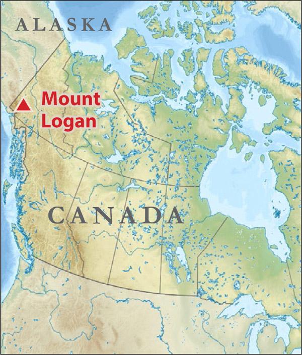 Mt Logan, Alaska