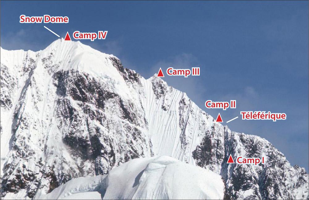 Mt Logan Hummingbird Ridge Camp 1 Through Camp 4