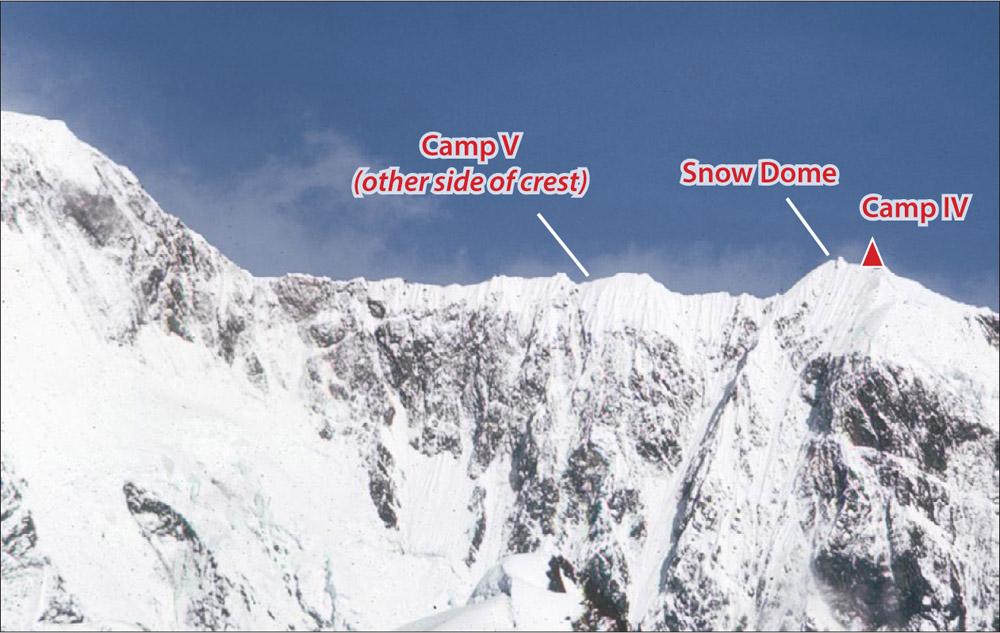 Mt Logan Hummingbird Ridge Traverse Route