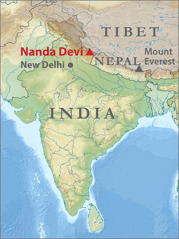 Nanda Devi Map