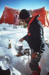 John Evans Melting Snow in the Pamirs