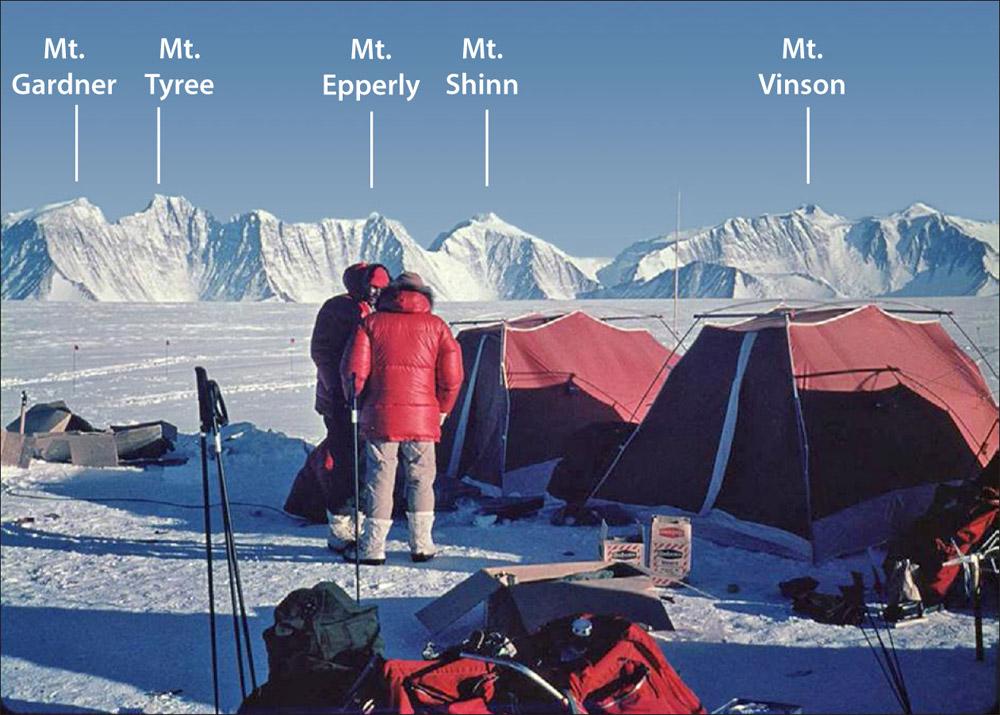 Mt Vinson and Sentinel Range
